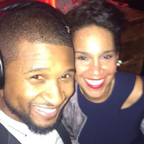 Usher grace Miguel engaged