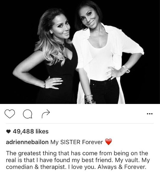 Adrienne Bailon statement