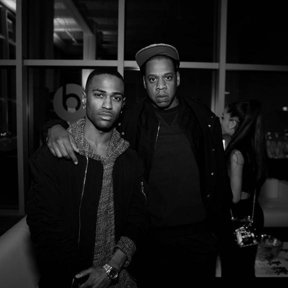 Big Sean Jay Z listening party