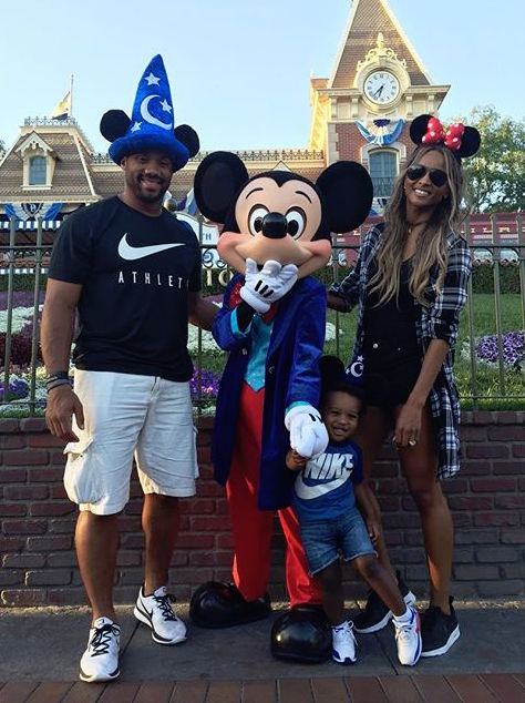Ciara Russell Wilson Future Disneyland