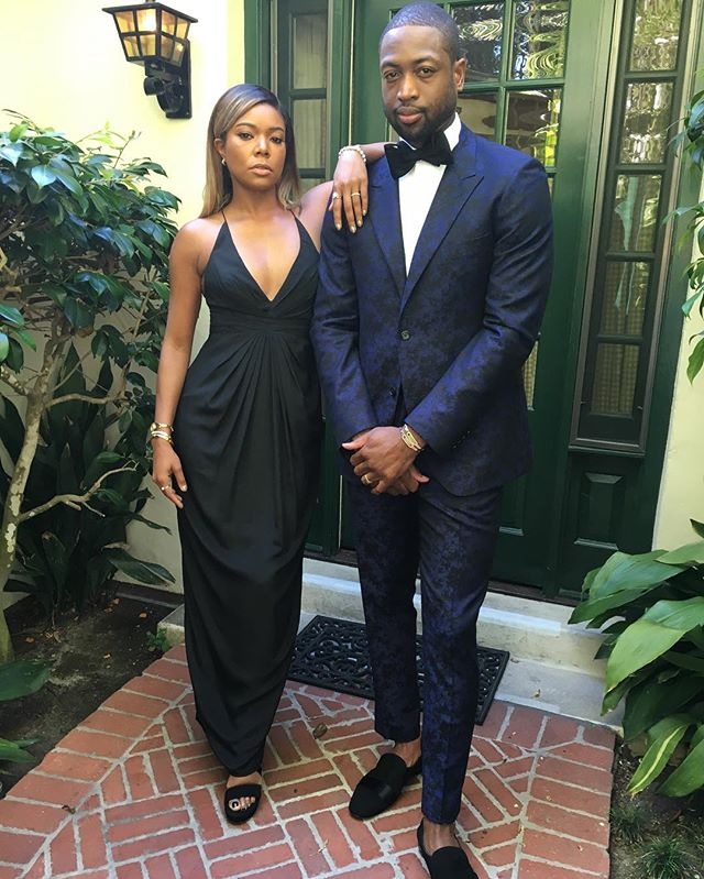 Dwyane Wade GAbrielle union Kevin Hart Wedding