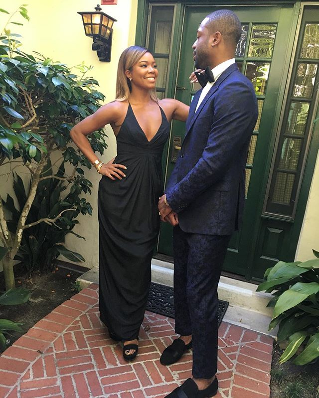 Dwyane Wade Gabrielle Union Kevin Hart Wedding 3