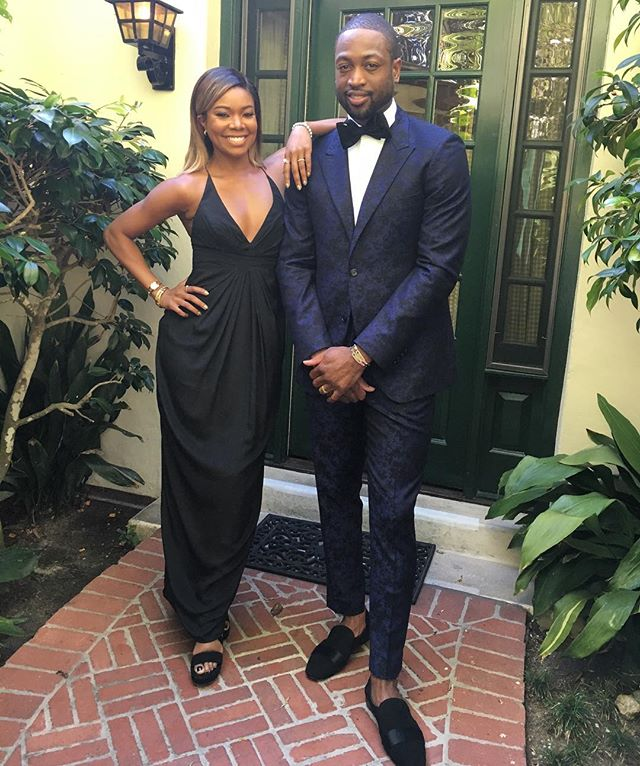 Dwyane Wade Gabrielle union Kevin Hart Wedding 2