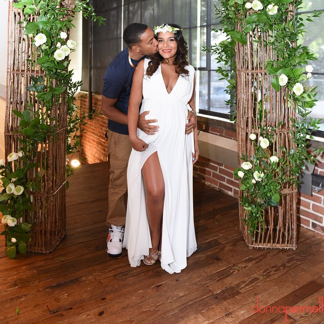 Ludacris And Eudoxie Celebrate With Secret Garden Baby Shower