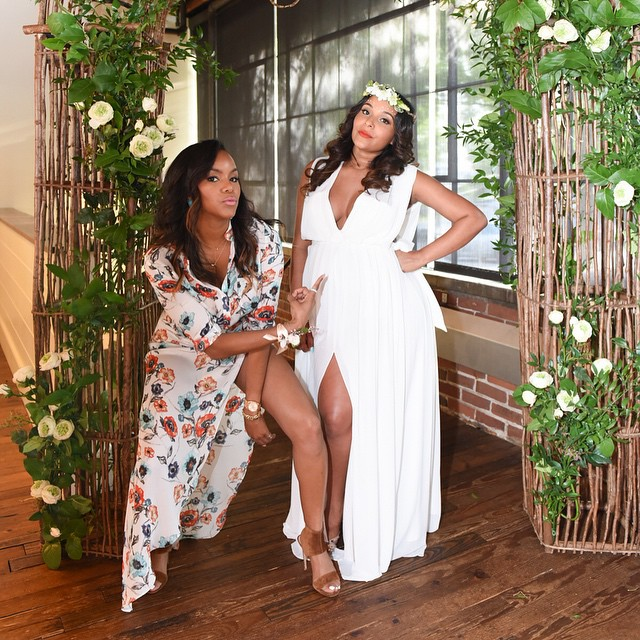 Eudoxiee Ludacris Baby Shower Letoya Luckett