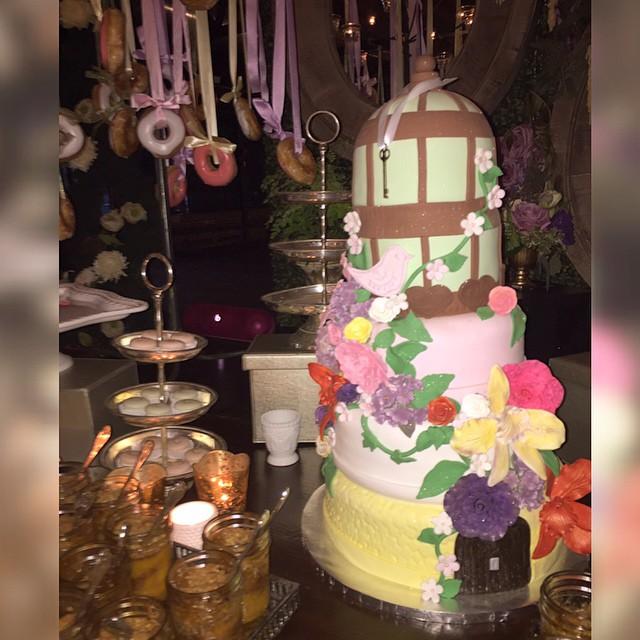 Eudoxiee Ludacris Baby Shower cake