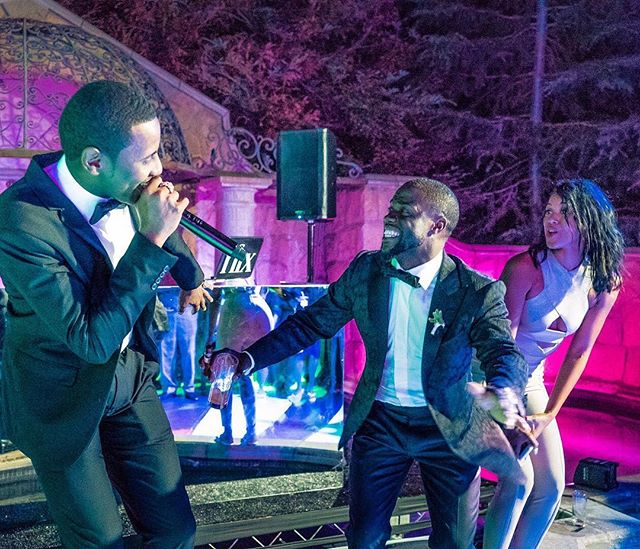Fabolous Kevin Hart Wedding 2