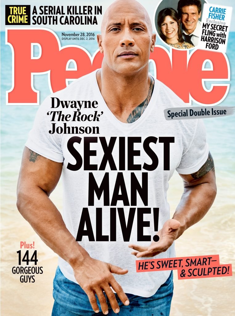 Dwayne Johnson sexiest man alive