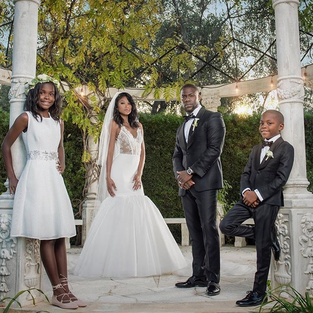 Kevin Hart Wedding 8