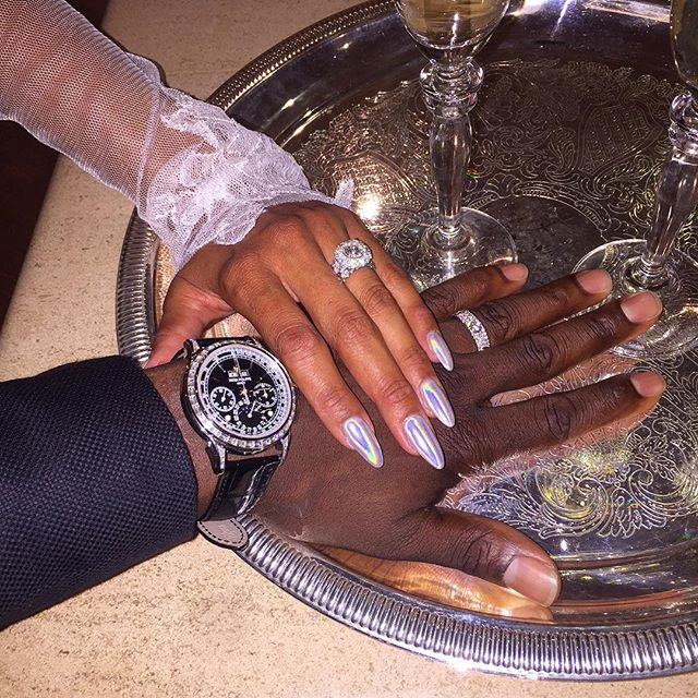 Kevin Hart Wedding Rings