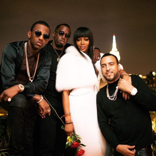 Naomi Campbell Diddy Birthday Party Fabolous French Montana 2