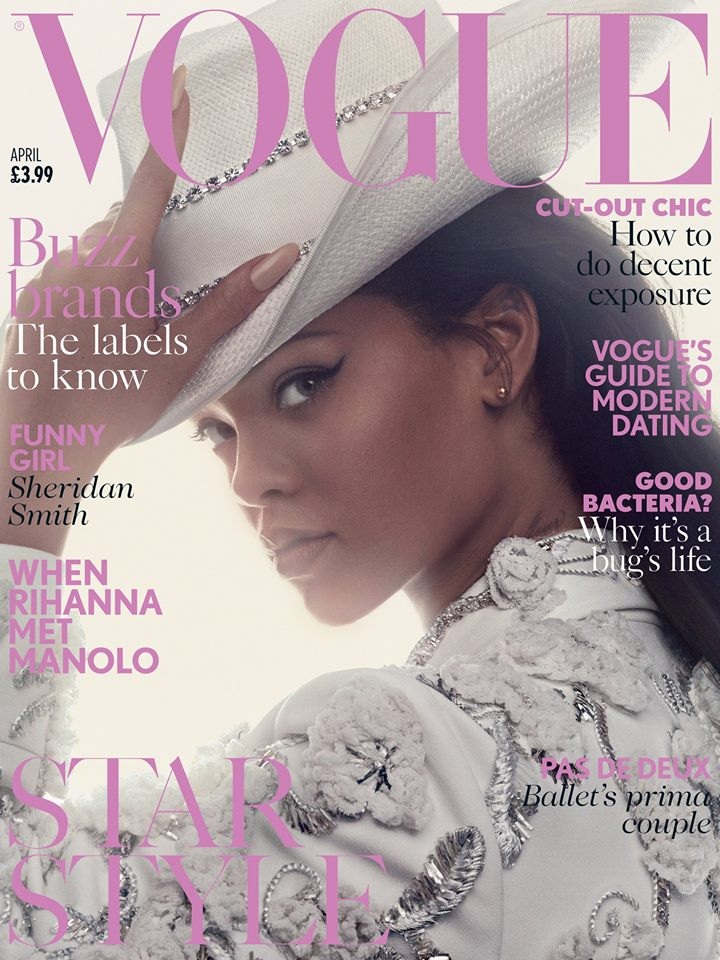 Rihanna British Vogue April 2016