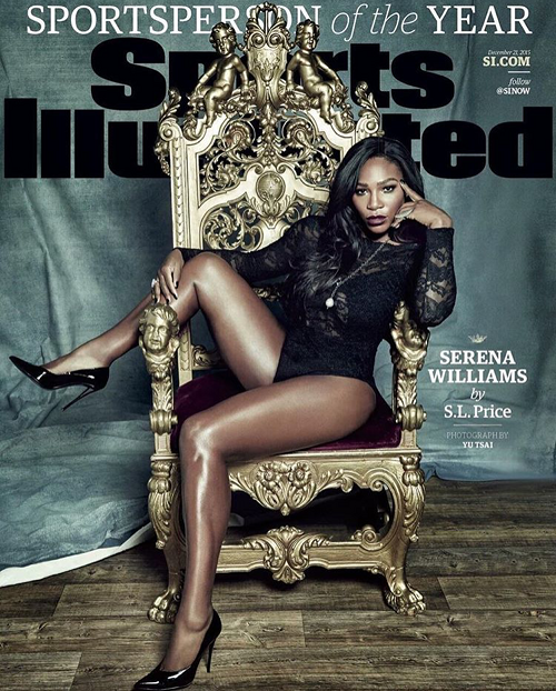 Serena Williams Sports Illustrated cover