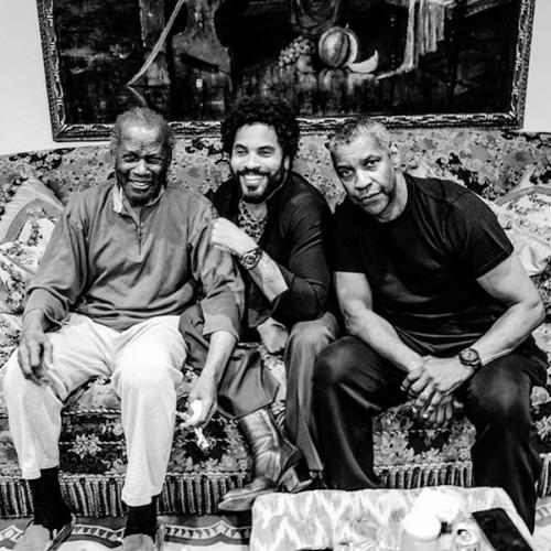 Sidney Poitier Denzel Washington Lenny Kravitz