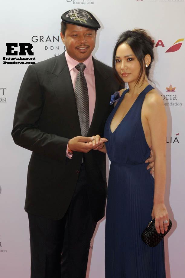 Terrence and Miranda.                     Photo: FameFlynet