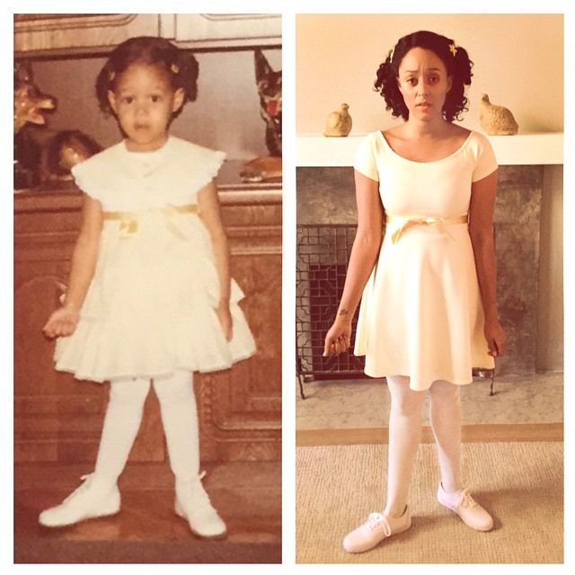 Tia Mowry Throwback childhood photo