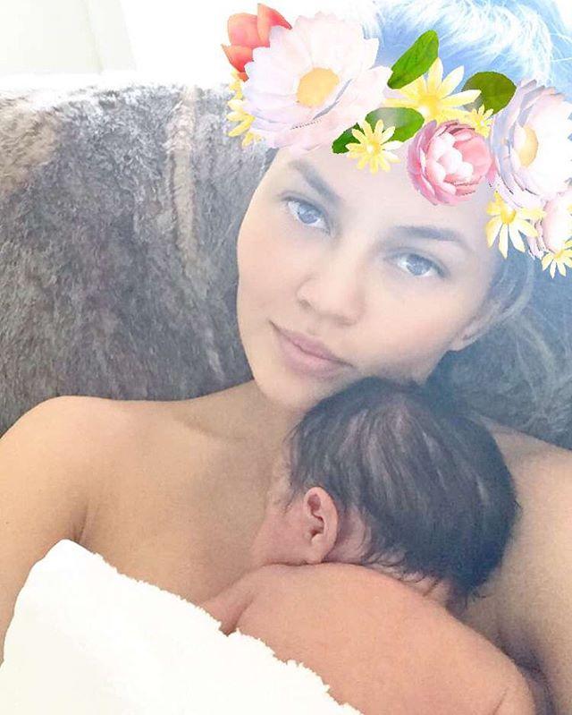 Chrissy Teigen baby
