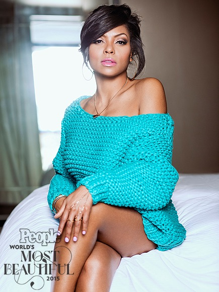 Taraji P Henson People Most Beautiful