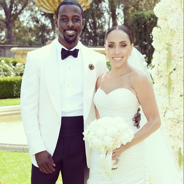 Lance Gross Marries Rebecca Jefferson