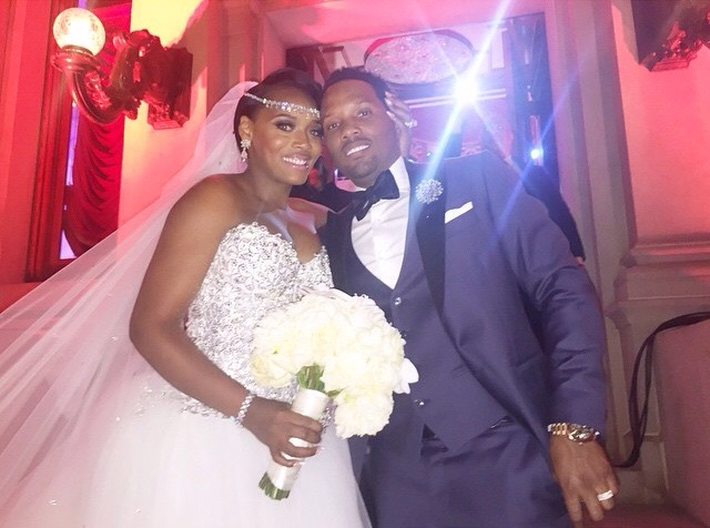 Yandy smith Mendeecees wedding photo