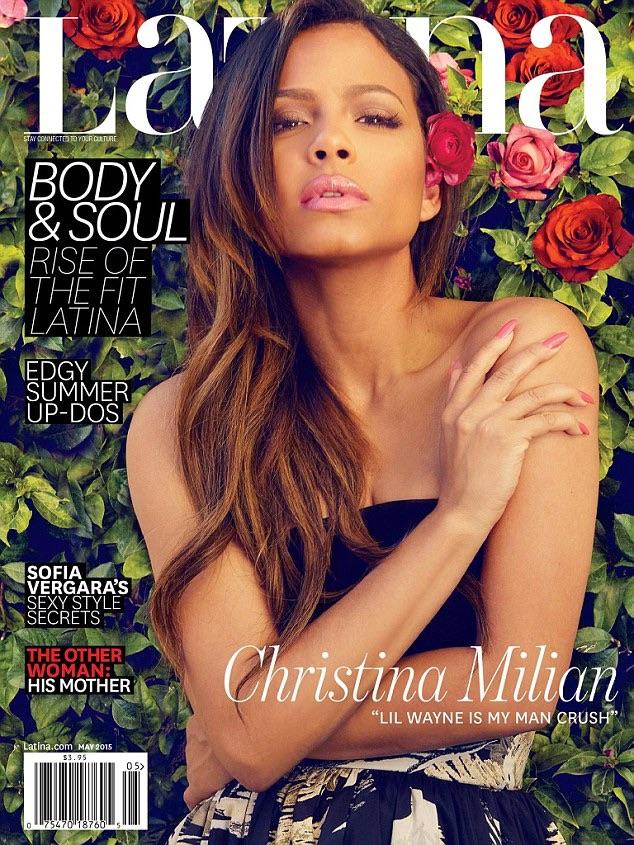 Christina Milian Latina Magazine 2015